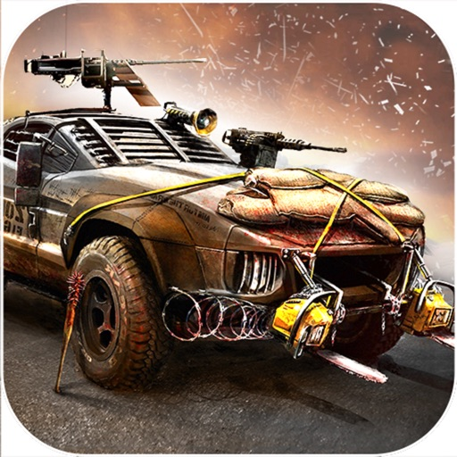 Weapon Car Rider : Highway Shooting Race-r 3D icon