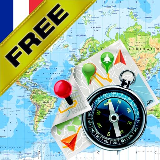 Франция - Офлайн карта & GPS навигатор бесплатно