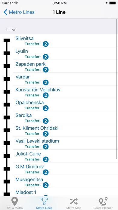 Sofia Metro Screenshot 5