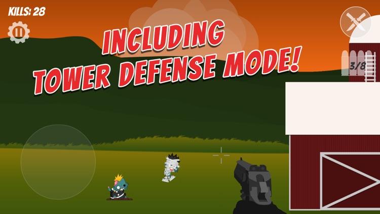 Backyard Zombies Shooting game screenshot-3