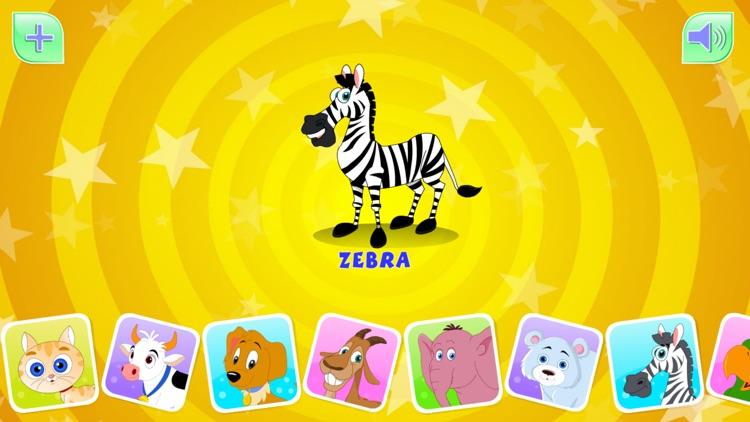 Animal Sounds For Kids-HD