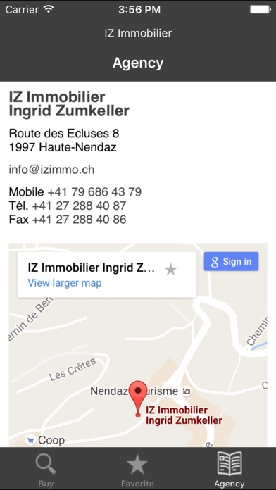 messages.download IZ Immobilier software