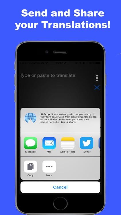 Multi Language Translator Pro screenshot-3