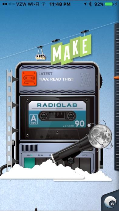 Radiolab review screenshots
