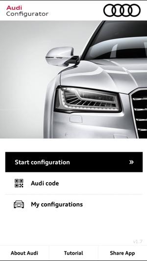 Audi Configurator UK On The App Store - Audi car configurator