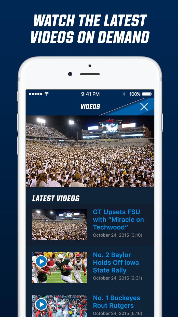 NCAA Sports Screenshot
