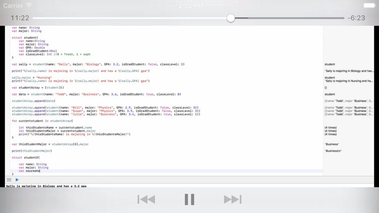 Tutorial for Swift iOS Programming Language v3 screenshot-4