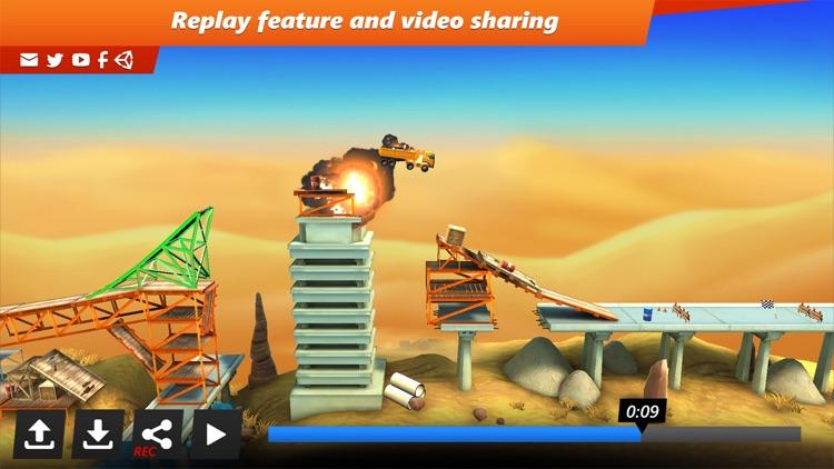 Bridge Constructor Stunts screenshot-3