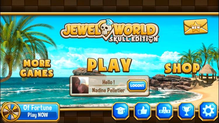 Jewel World Skull Edition screenshot-3