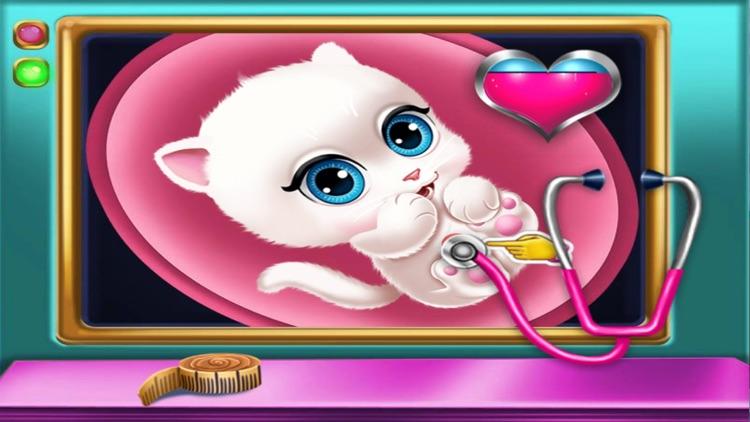 猫猫怀孕看医生游戏
