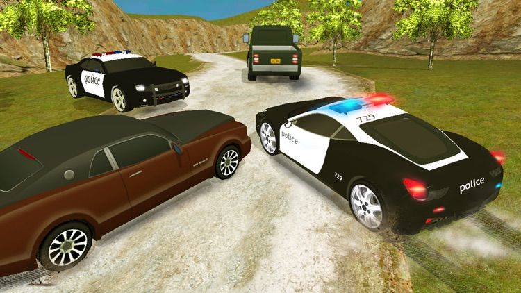 Real City Police Car Driving Crime Chase 3D screenshot-3