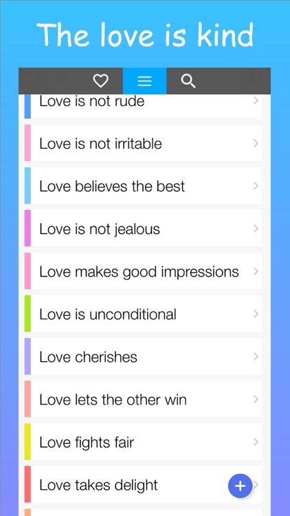 The Love reminder bible quotes for messenger