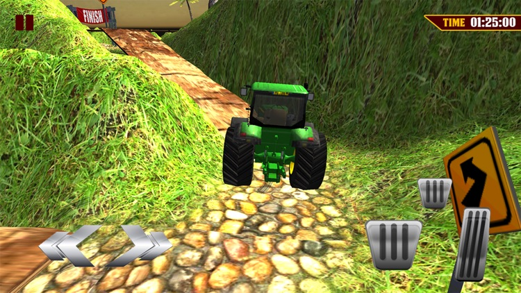 Tractor Driver 3D-Hill Station