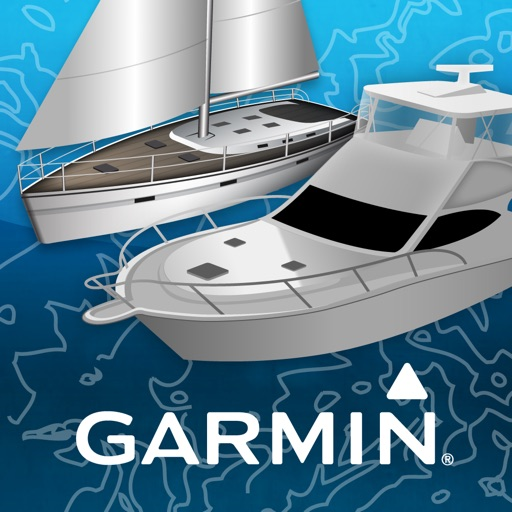 Garmin BlueChart® Mobile app logo