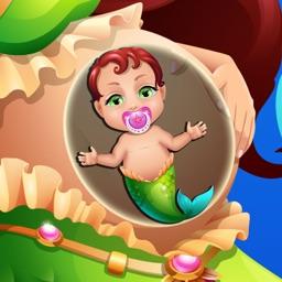 Baby Mermaid Hospital - Doctor Salon & Kids Games