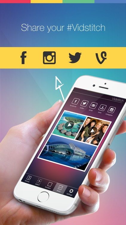 Vidstitch Frames for Instagram screenshot-3