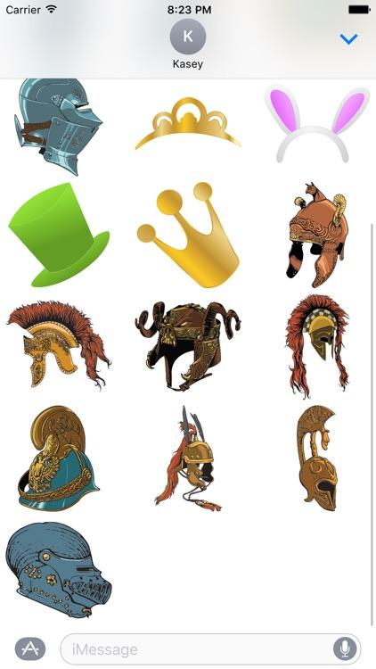 Hat Sticker Pack