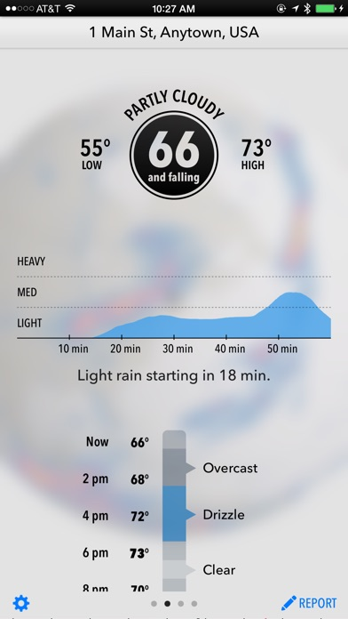 Dark Sky Weather Screenshot