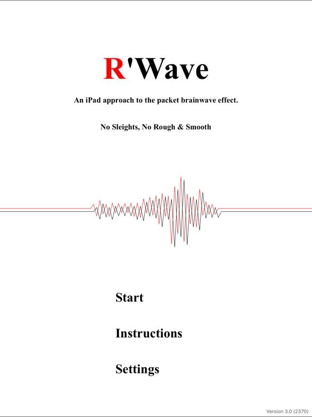 r wave をapp storeで
