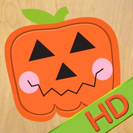 Wood Puzzle Halloween HD icon