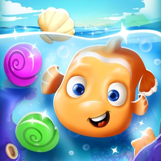 Fish Ocean Match 3 Games: Adventure Matching Mania