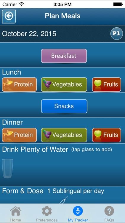 hCG Diet Tracker+ screenshot-3