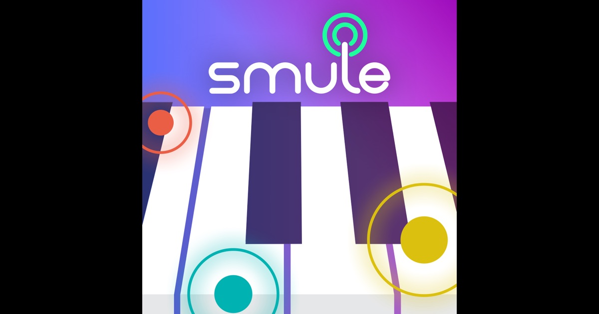 magic piano by smule on the app store. Black Bedroom Furniture Sets. Home Design Ideas