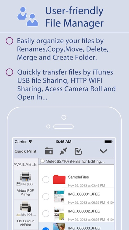 Quick Print for iPhone screenshot-4