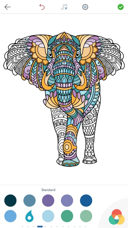 Adult Animal Coloring Pages screenshot-4