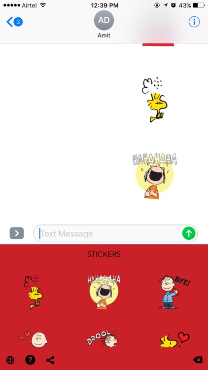 Peanuts Emoji screenshot-3