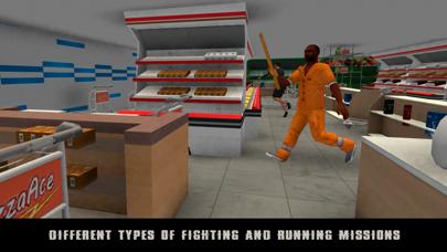 Vegas Supermarket Gangster Escape 3D screenshot two