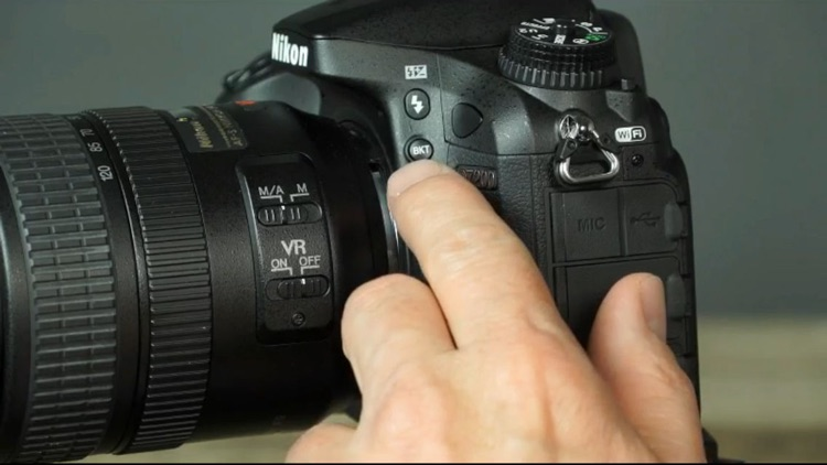 QuickPro Control + Train for Nikon D7200 HD