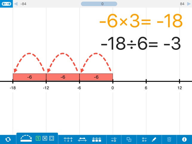 Number line by the math learning center on the app store ccuart Image collections