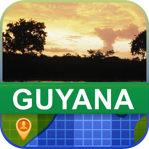 Offline Guyana Map - World Offline Maps