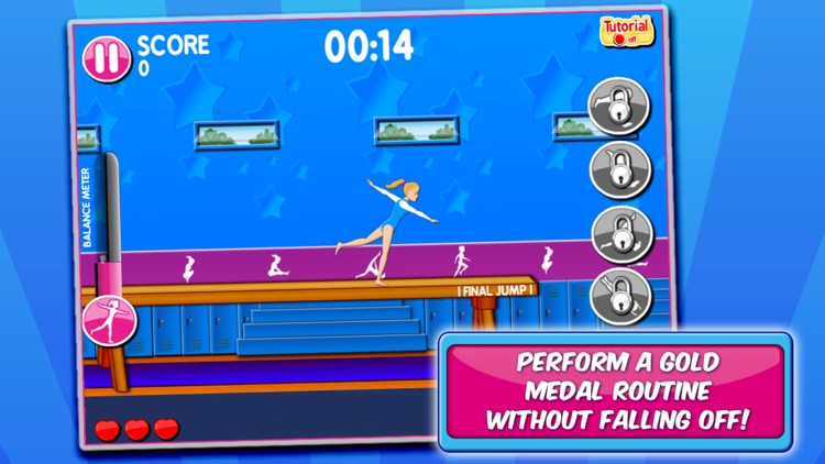 Gymnastic & Dance Girls Game screenshot-3