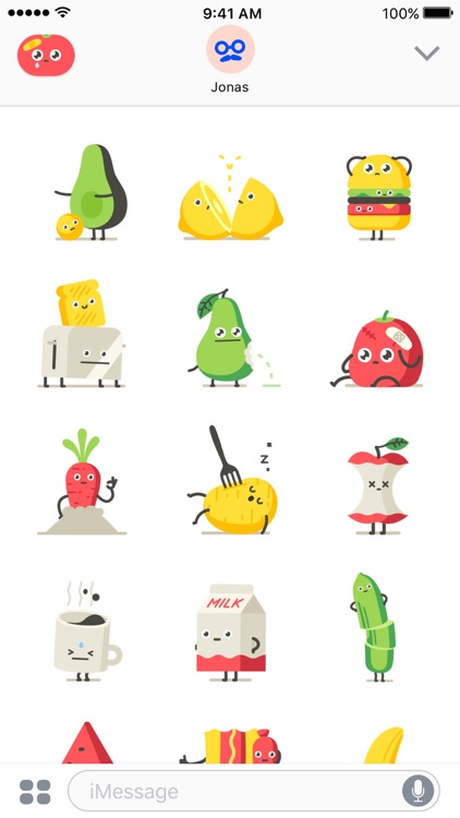 Moody Foodies – Animated Stickers