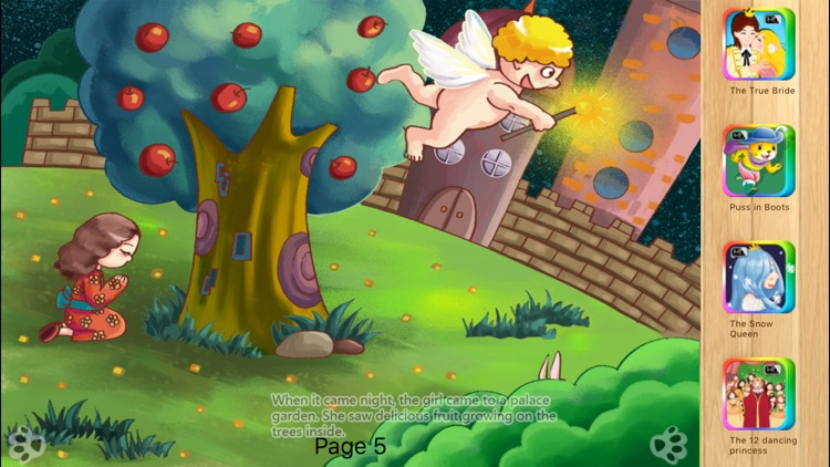 Girl with no Hands - Bedtime Fairy Tale iBigToy screenshot-0