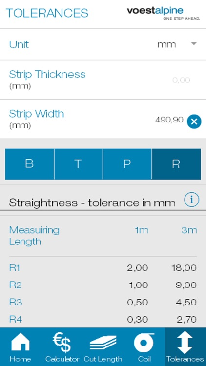 voestalpine steel calculator screenshot-4