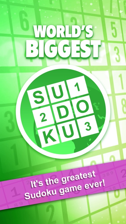 Sudoku : World's Biggest Number Logic Puzzle screenshot-4