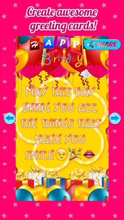 Birthday Greetings - Free Birthday Greeting Cards