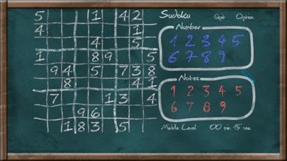 Screenshot #1 pour Sudoku on Chalkboard