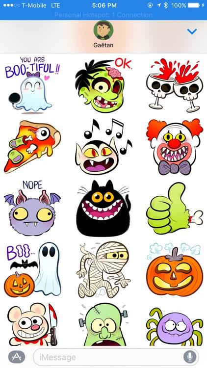 Creepy Stickers