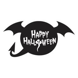 Happy Halloween Speeble Stickers
