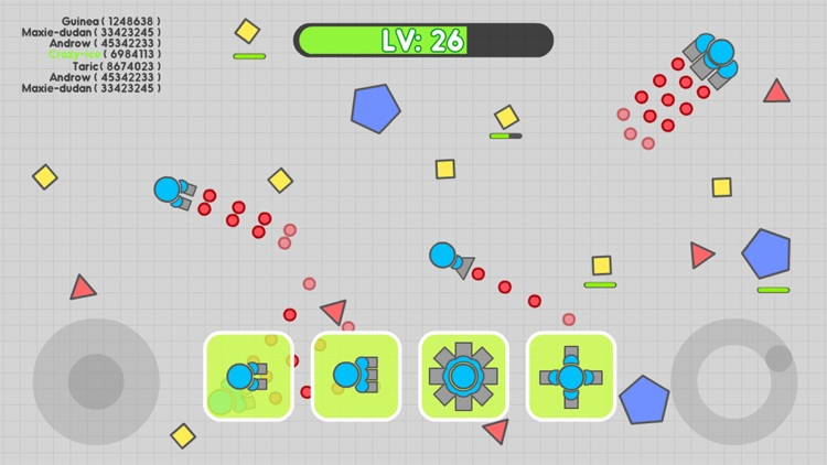 Tank.io War - Multiplayer Mobile Online Games screenshot-0