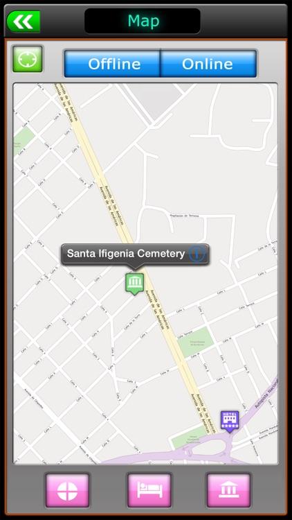 Santiago de Cuba Offline Map Travel Guide
