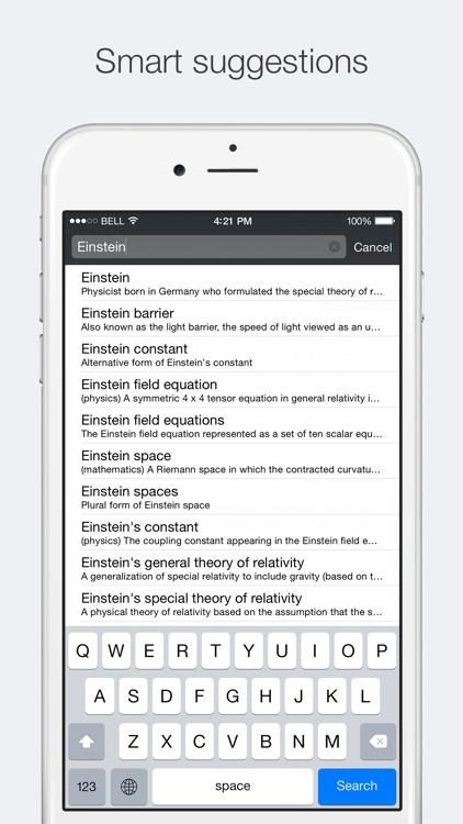 Advanced English Dictionary & Thesaurus screenshot-3