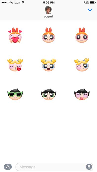 Fun PPG Sticker Sampler Pack phone App screenshot 2