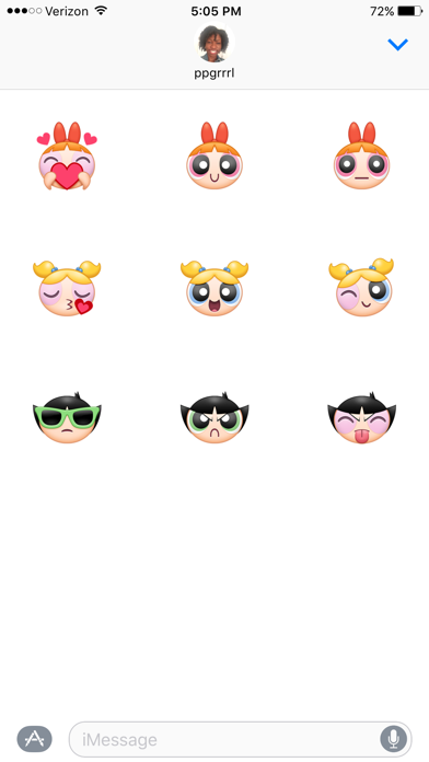 Fun PPG Sticker Sampler Pack phone App screenshot 2