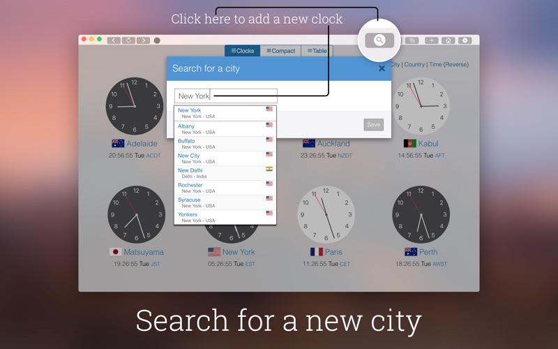 My World Clock скриншот программы 2