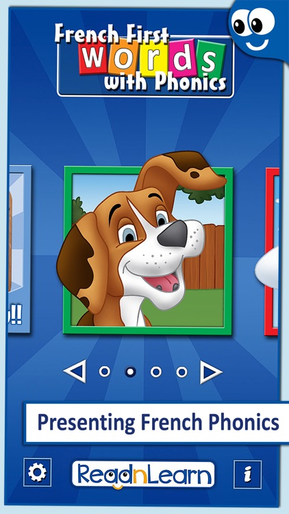 French First Words with Phonics: Kids Preschool Spelling & Learning Game screenshot-0